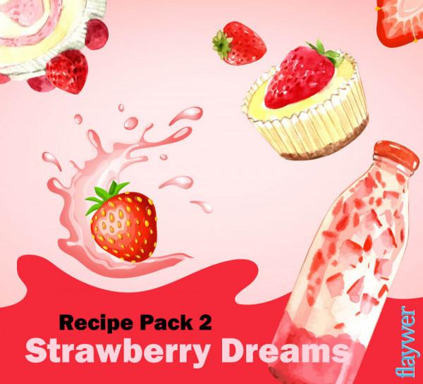 Recipe Pack 2 - Strawberry Dreams