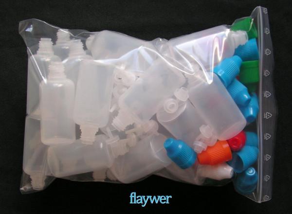 Liquidflasche mit dünnem Tropfer - 30ml (25er Packung)