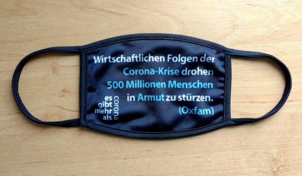 Mehr als Corona Mundschutz - Oxfam 500 Millionen
