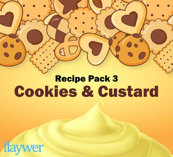 Recipe Pack 3 - Cookies & Custard