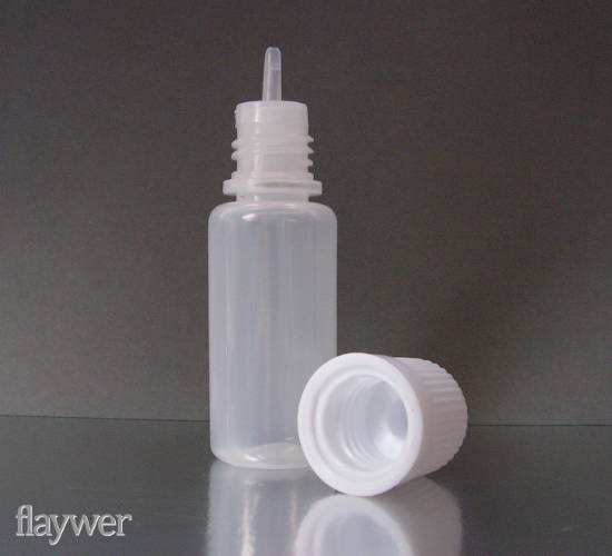 Plastic bottle with thin dropper - 10ml