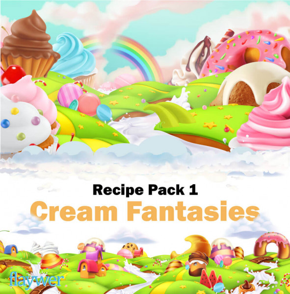 Recipe Pack 1 - Cream Fantasies