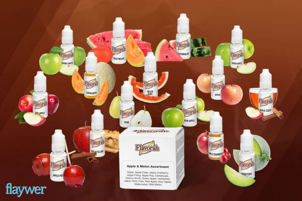 Flavorah Assortment Pack - Apple and Melon